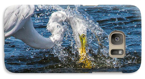 Galaxy Case featuring the photograph Water Helmet by Susi Stroud
