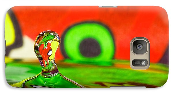 Galaxy Case featuring the photograph Water Hill by Peter Lakomy