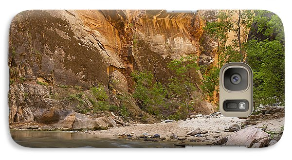 Galaxy Case featuring the photograph Water In The Narrows by Bryan Keil