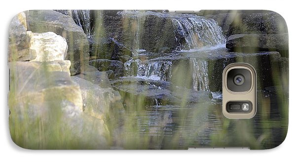 Galaxy Case featuring the photograph Water Is Life 1 by Teo SITCHET-KANDA