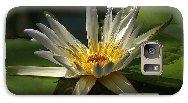 Galaxy Case featuring the photograph Water Lily 2 by Rudi Prott