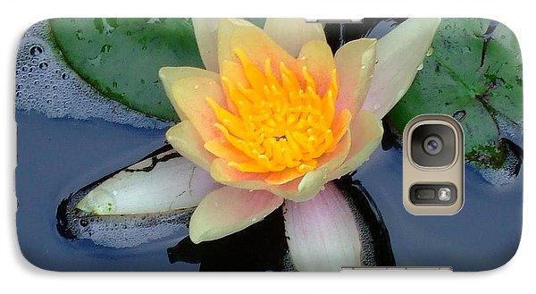Galaxy Case featuring the photograph Water Lily by Deborah DeLaBarre