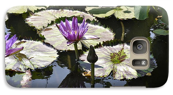 Galaxy Case featuring the photograph Water Lily by Dottie Branchreeves