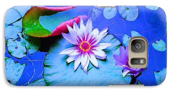Galaxy Case featuring the photograph Water Lily I by Ann Johndro-Collins