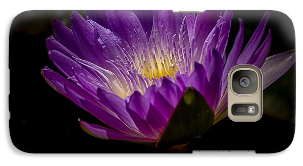 Galaxy Case featuring the photograph Water Lily by Jay Stockhaus