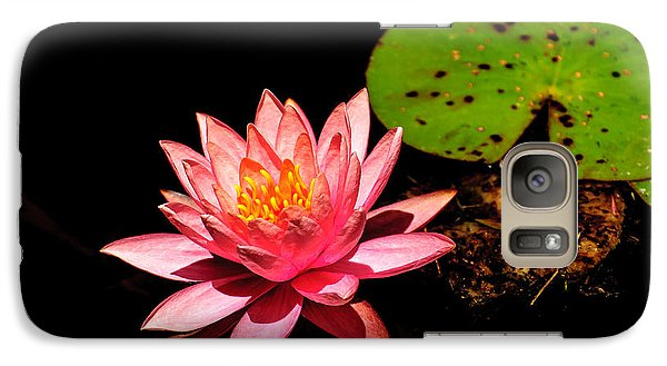 Galaxy Case featuring the photograph Water Lily by John Johnson