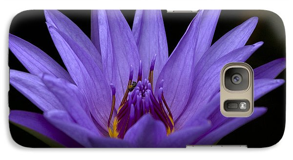 Galaxy Case featuring the photograph Water Lily Photo by Meg Rousher
