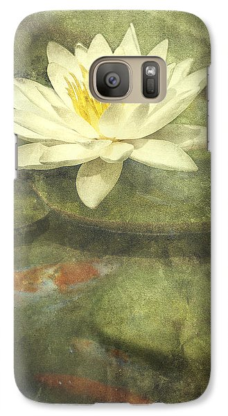 Lily Galaxy S7 Case - Water Lily by Scott Norris