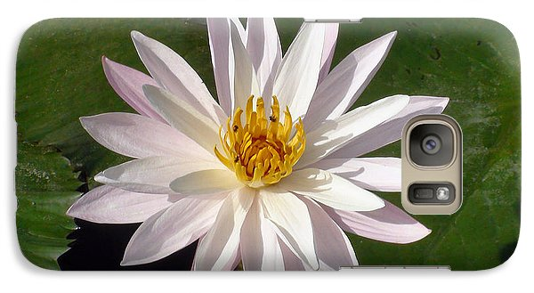 Galaxy Case featuring the photograph Water Lily by Sergey Lukashin