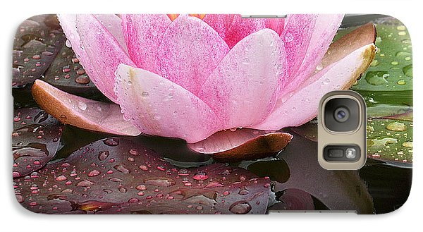 Galaxy Case featuring the photograph Water Lily by Simona Ghidini
