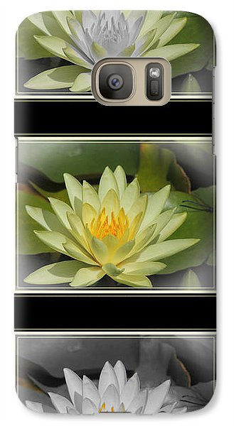 Galaxy Case featuring the photograph Water Lily by Teresa Schomig