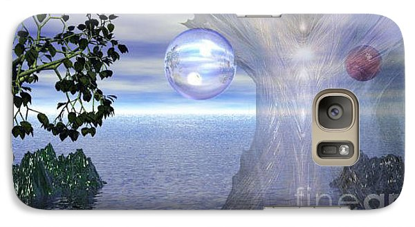 Galaxy Case featuring the digital art Water Protection by Kim Prowse