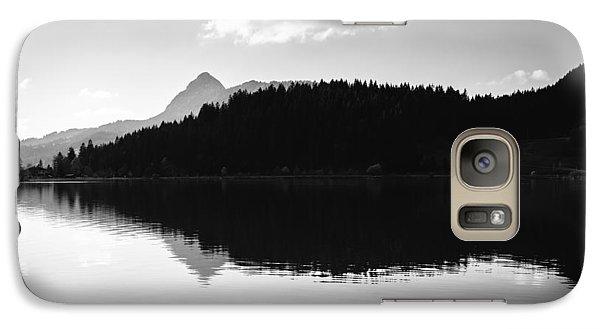 Water Reflection Black And White Galaxy S7 Case by Matthias Hauser