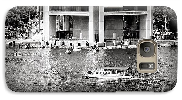 Galaxy Case featuring the photograph Water Taxi by Toni Martsoukos