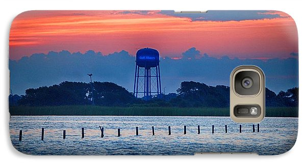 Galaxy Case featuring the digital art Water Tower by Michael Thomas
