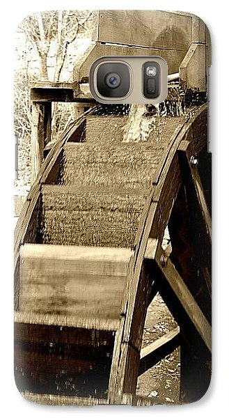 Galaxy Case featuring the photograph Water Wheel by Tara Potts