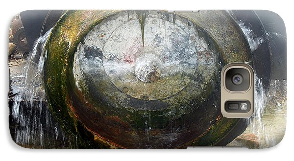 Galaxy Case featuring the photograph Water Wheel by Tarey Potter