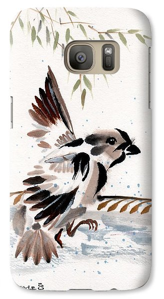 Galaxy Case featuring the painting Water Wings by Bill Searle