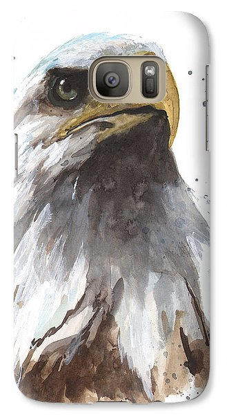 Watercolor Eagle Galaxy S7 Case by Alison Fennell
