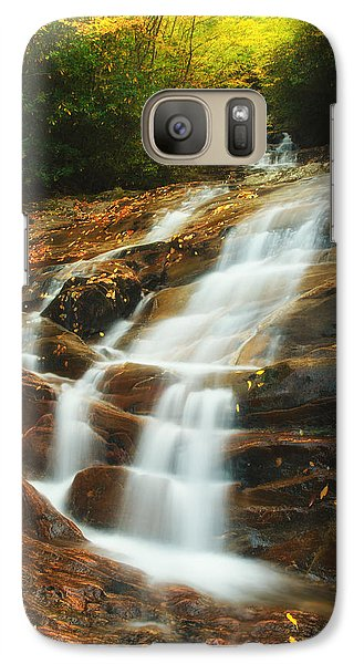 Waterfall @ Sams Branch Galaxy S7 Case