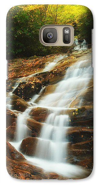 Galaxy Case featuring the photograph Waterfall @ Sams Branch by Photography  By Sai