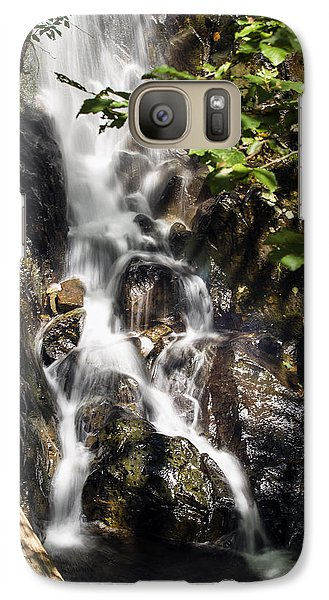 Galaxy Case featuring the photograph Waterfall 2 by David Lester