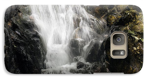 Galaxy Case featuring the photograph Waterfall 3 by David Lester