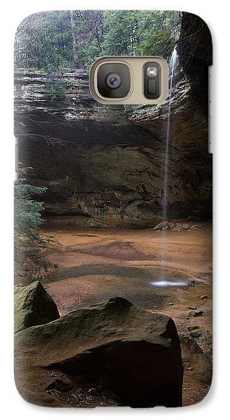 Waterfall At Ash Cave Galaxy S7 Case