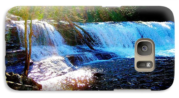 Galaxy Case featuring the photograph Waterfall At Dupont Forest Park Nc 2 by Annie Zeno
