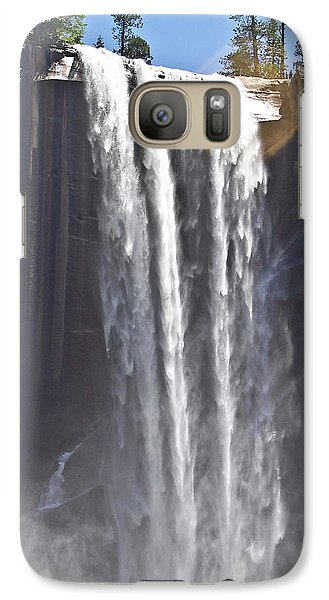 Galaxy Case featuring the photograph Waterfall by Brian Williamson