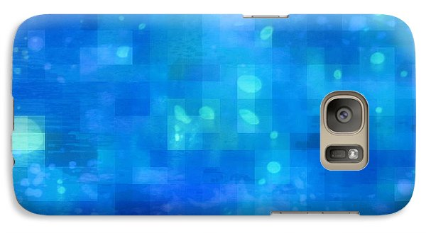Galaxy Case featuring the painting Waterfall by David Mckinney