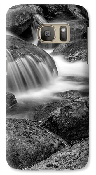 Galaxy Case featuring the photograph Waterfall In Mount Rainier National Park by Bob Noble Photography