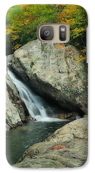 Galaxy Case featuring the photograph Waterfall In West Fork Of Pigeon River by Photography  By Sai