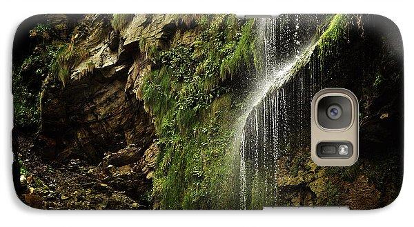 Galaxy Case featuring the photograph Waterfall by Mariusz Zawadzki