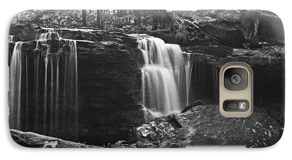 Galaxy Case featuring the photograph Waterfall Wat 255 by G L Sarti