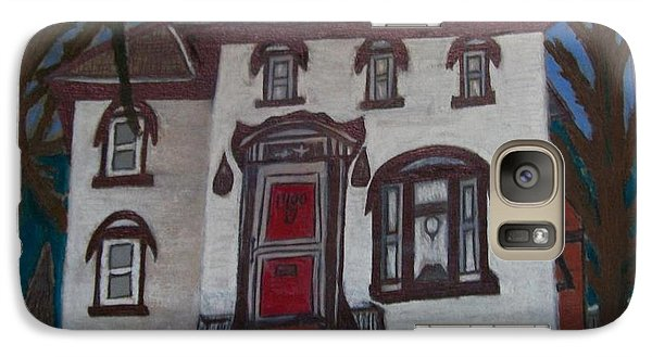 Galaxy Case featuring the drawing Historic 7th Street Home In Menominee by Jonathon Hansen