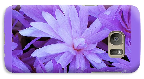 Galaxy Case featuring the photograph Waterlily Crocus by Michele Penner
