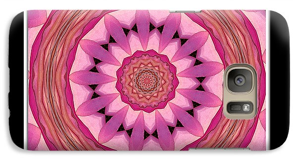 Galaxy Case featuring the photograph Waterlily Flower Kaleidoscope 3 by Rose Santuci-Sofranko