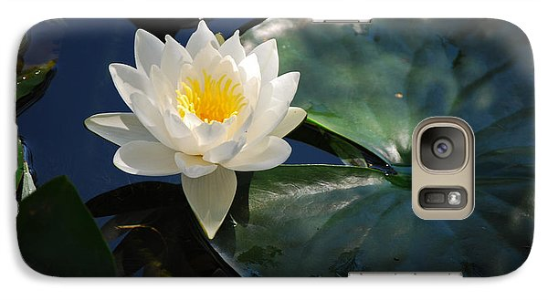 Galaxy Case featuring the photograph Waterlily by Janis Knight