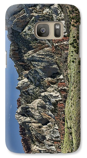 Galaxy Case featuring the photograph Waterpocket Fold - Phone Case by Gregory Scott