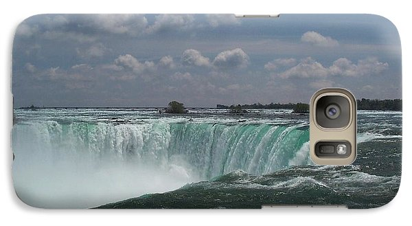 Galaxy Case featuring the photograph Water's Edge by Barbara McDevitt