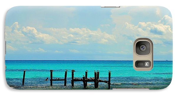 Galaxy Case featuring the photograph waters of Mexico    by Puzzles Shum