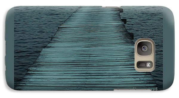 Galaxy Case featuring the photograph Water's Path by Joy Angeloff