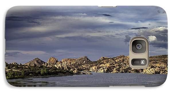 Galaxy Case featuring the photograph Watson Lake by James Bethanis