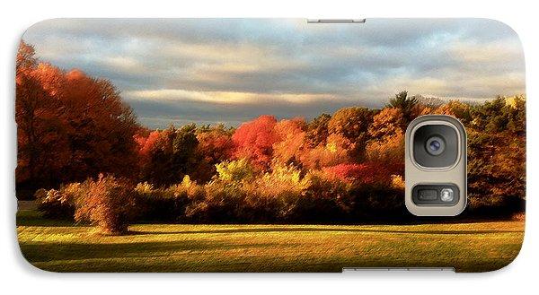 Galaxy Case featuring the digital art Waupaca Sunset by David Blank