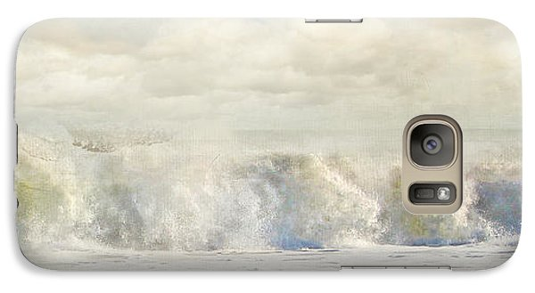 Galaxy Case featuring the photograph Wave 10 by Karen Lynch