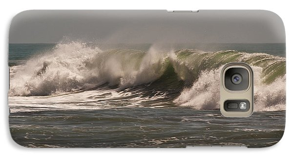 Galaxy Case featuring the photograph Wave At Kirk Creek Beach by Lee Kirchhevel