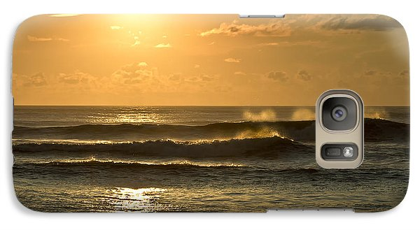 Galaxy Case featuring the photograph Waves Of Life by Skip Tribby