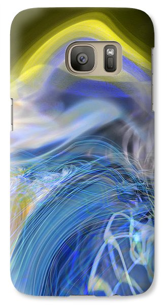 Galaxy Case featuring the digital art Wave Theory by Richard Thomas