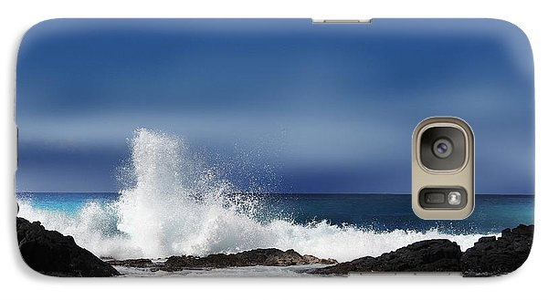 Galaxy Case featuring the photograph Waves by Athala Carole Bruckner